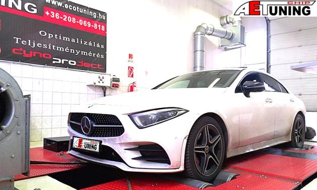 Mercedes CLS450 Hybrid EQ Boost motoroptimalizálás fékpadon