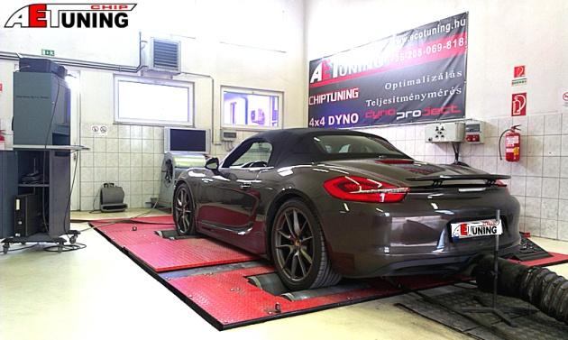 Porsche Boxster Chiptuning meglepő eredménnyel Chiptuning