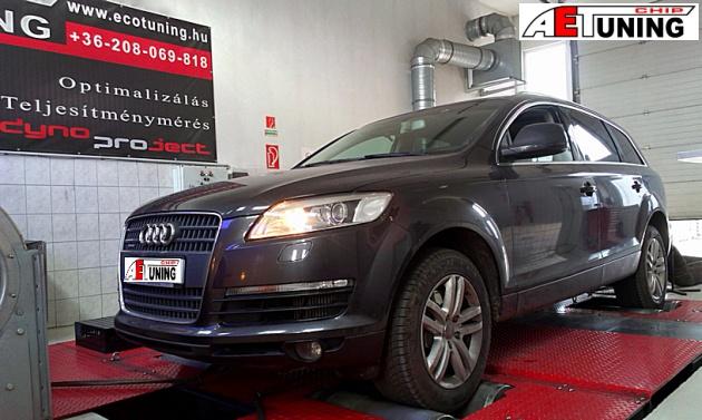 Audi Q7 4L 3.0 TDI 211Le Chiptuning