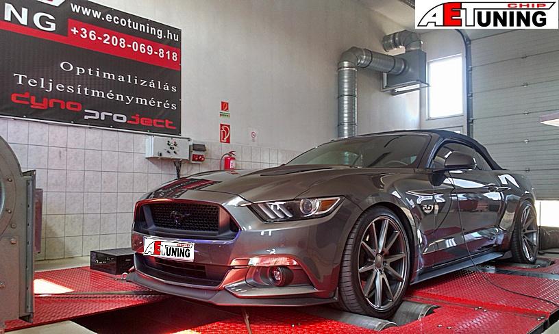 Ford Mustang 5.0 V8 Chiptuning Motoroptimalizálás